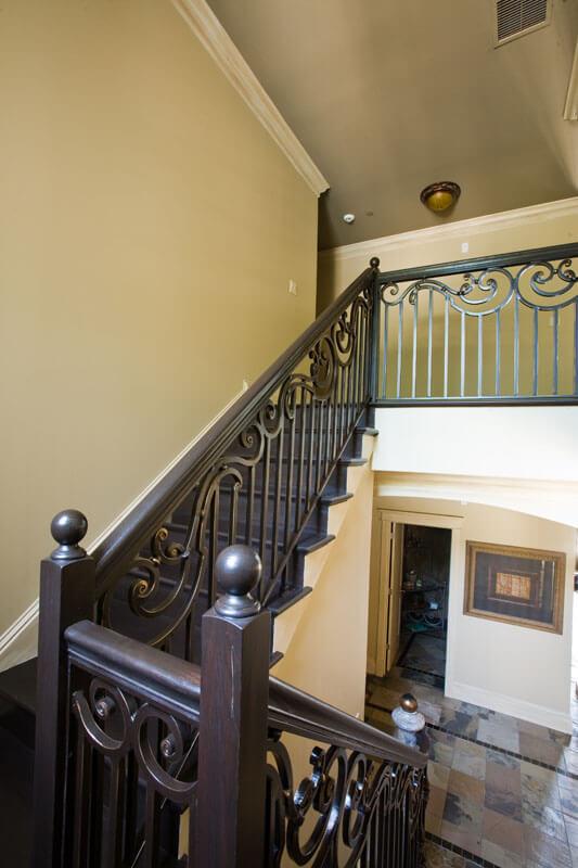 Elegant Stair Railing