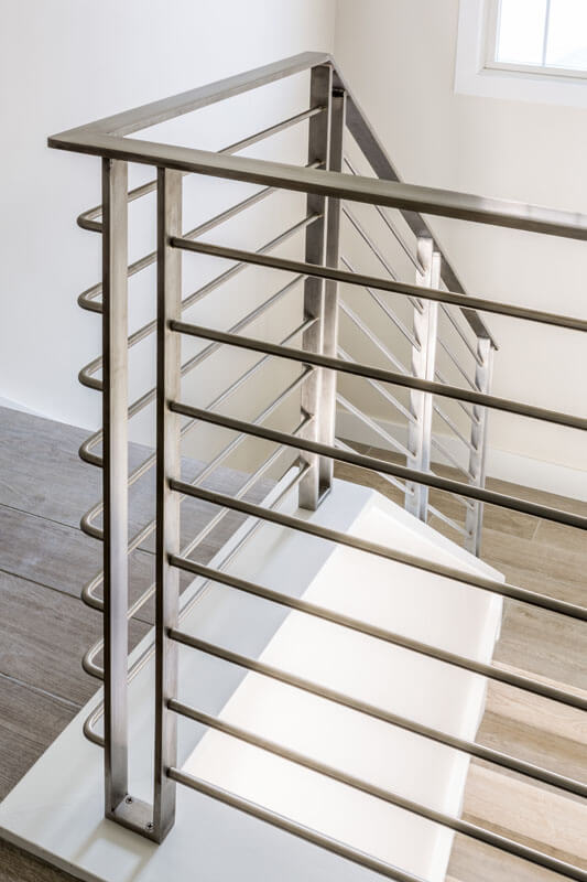 Contemporary Stainless Railing Design
