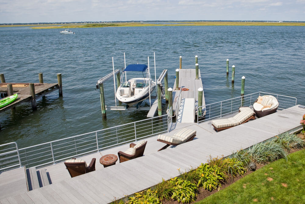 Dock Side Contemporary Railing