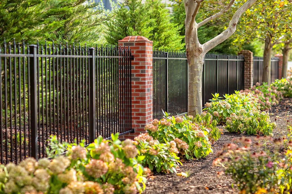 Aluminum Property Fence