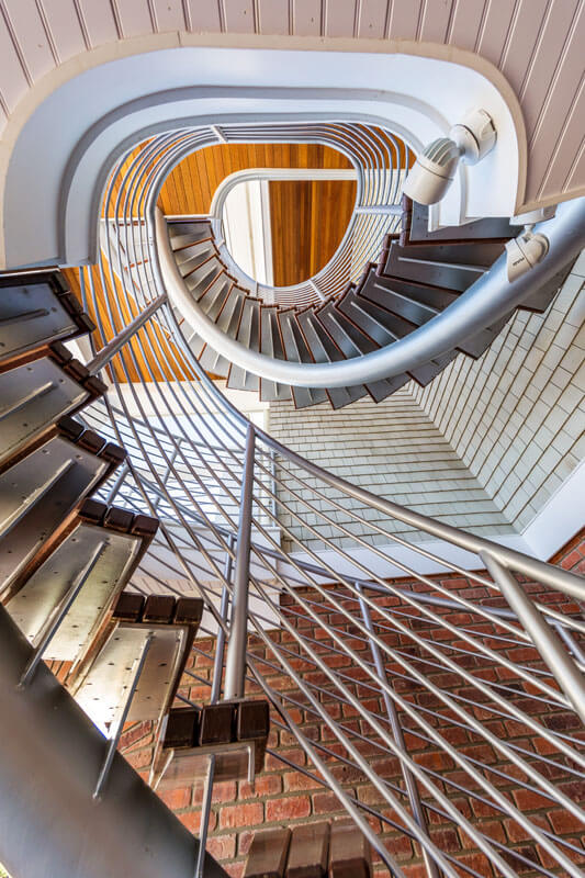 Double Helical Stair Railing