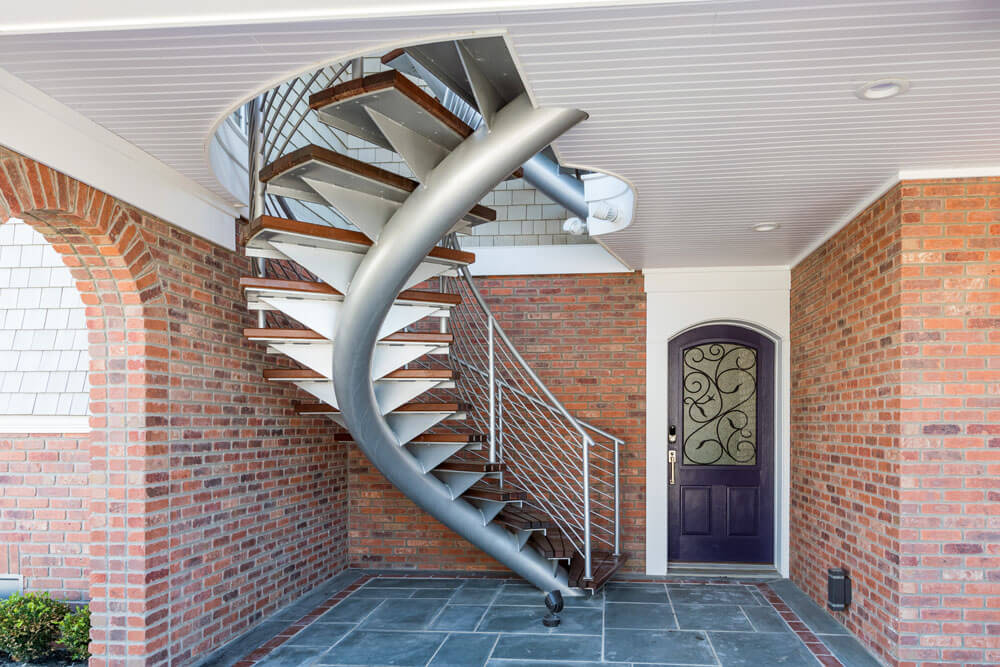 Helical Iron Staircase